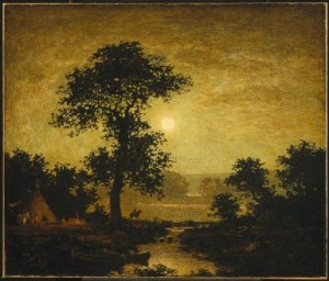Ralph Blakelock's painting plays a part in Fogg's story.