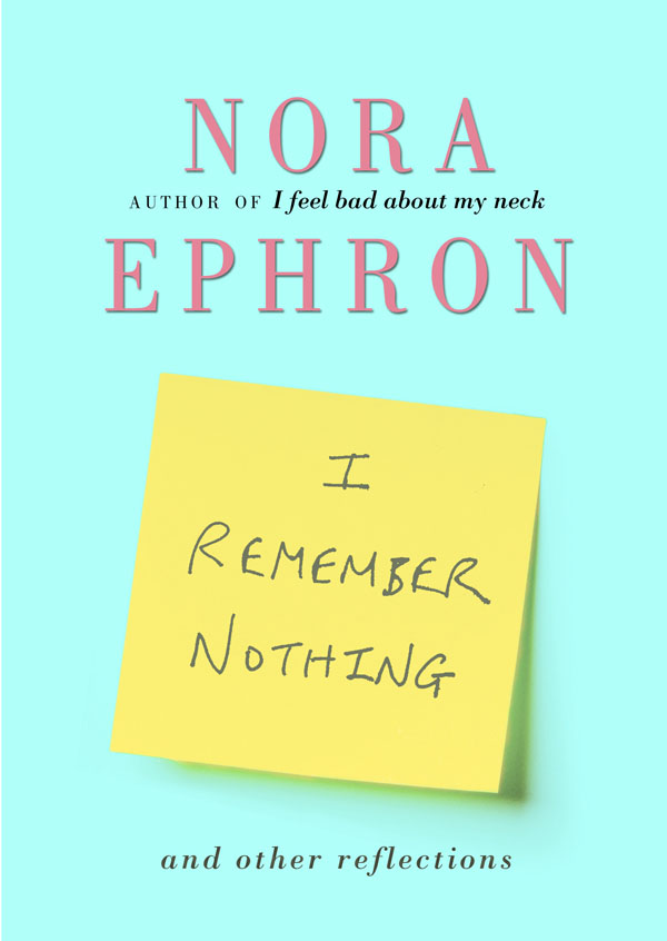 Nora ephron essays