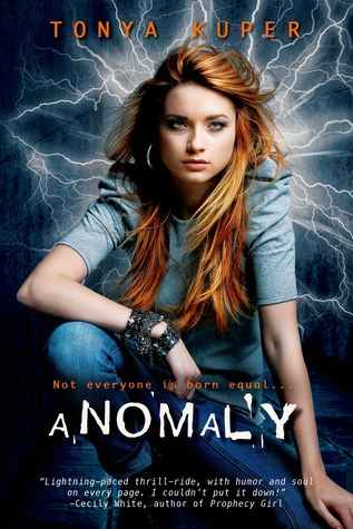 Cover of Anomaly by Tonya Kuper