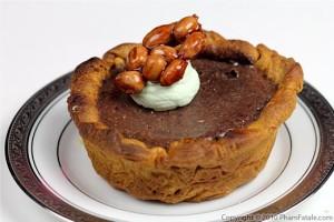 Chocolate kidney bean pie