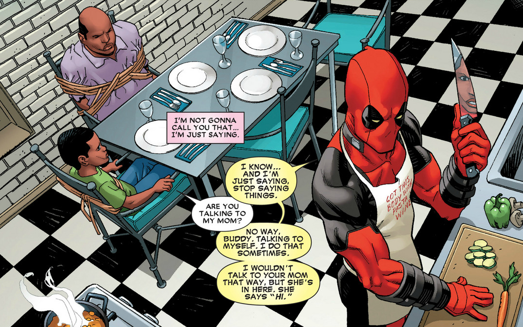 how to read a comic book in deadpool& 39