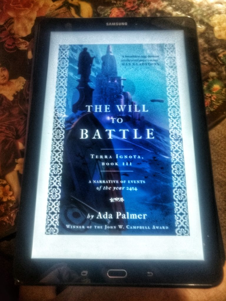 The Will To Battle by Ada Palmer – LittlePlat Book Review – Cannonball Read  11