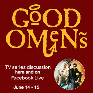 June Book Club: Good Omens TV series discussion.