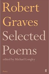 Cover of the Faber edition of Selected Poems by Robert Graves