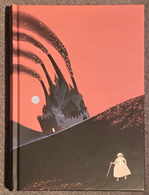 Cover of the Folio Society Edition of Howls Moving Castle