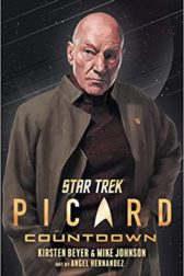 Cover of Star Trek graphic novel showing Jean Luc Picard