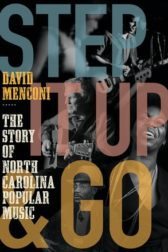 Cover of Step it Up and Go, depicting musicians performing with title over the images