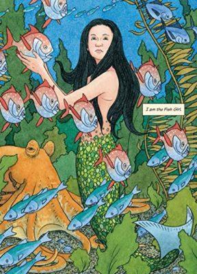 illustration of a mermaid by David Weisner