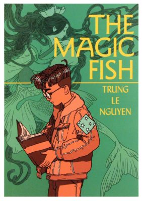cover of graphic novel The magic fish