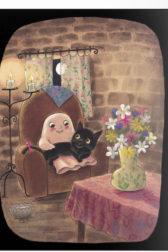 Gilbert & Meow, Cuddling